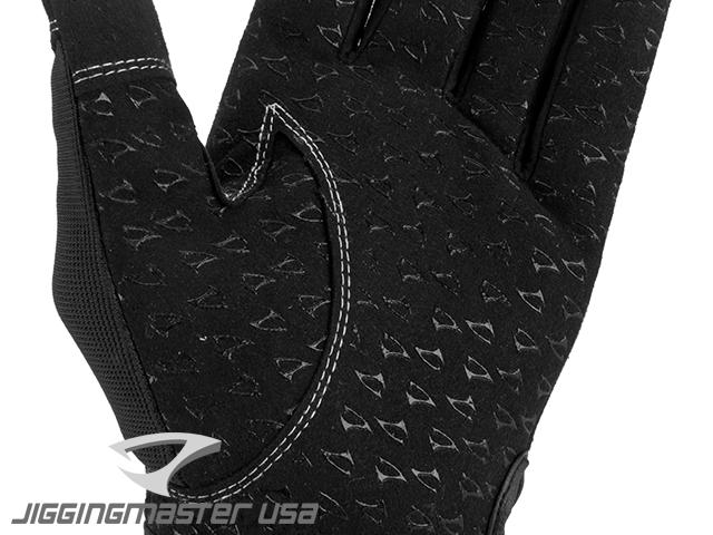 Jigging Master 3D Monster Game Glove - Black (Size: Large)