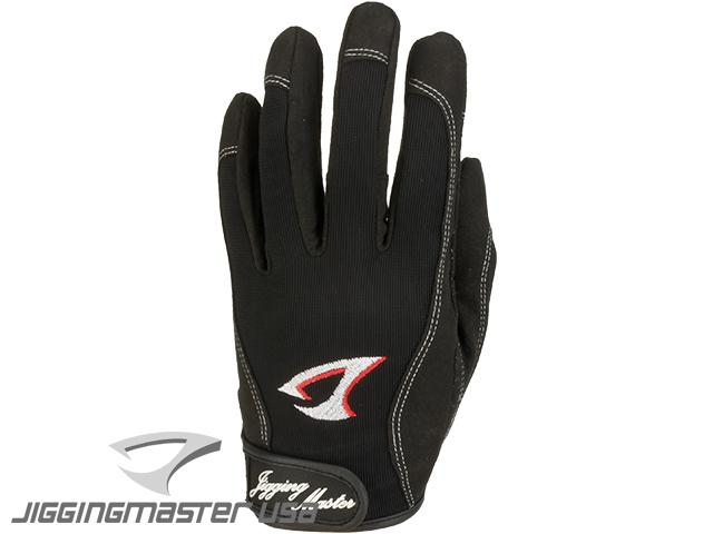 Jigging Master 3D Monster Game Gloves - Black (Size: X-Large)