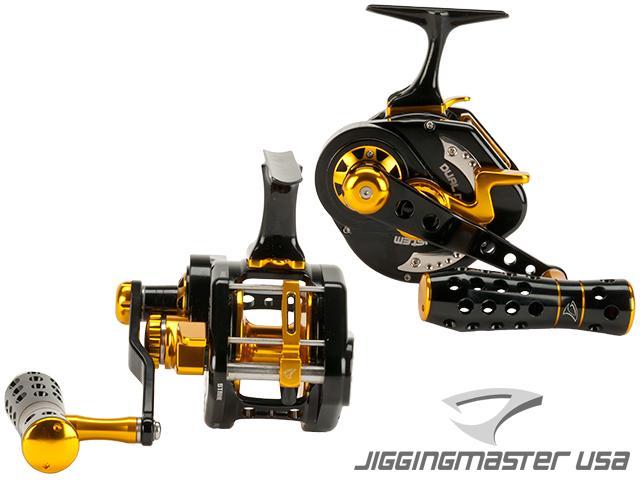 Jigging Master UnderHead Reel - Black / Gold (Size: PE7)