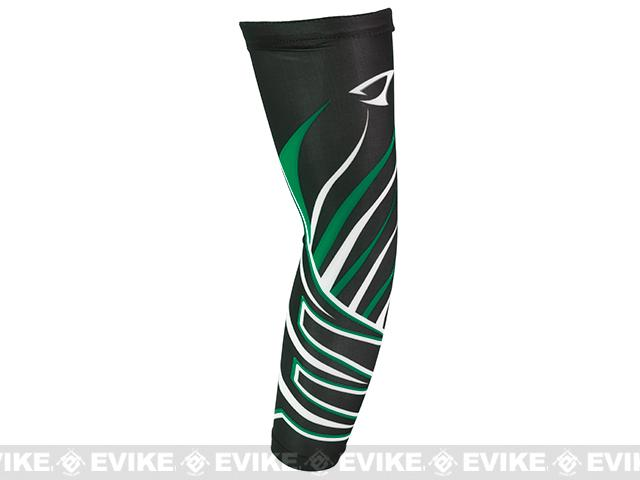 Jigging Master UV Cover-Up Arm Sleeves (Color: Black / Green)