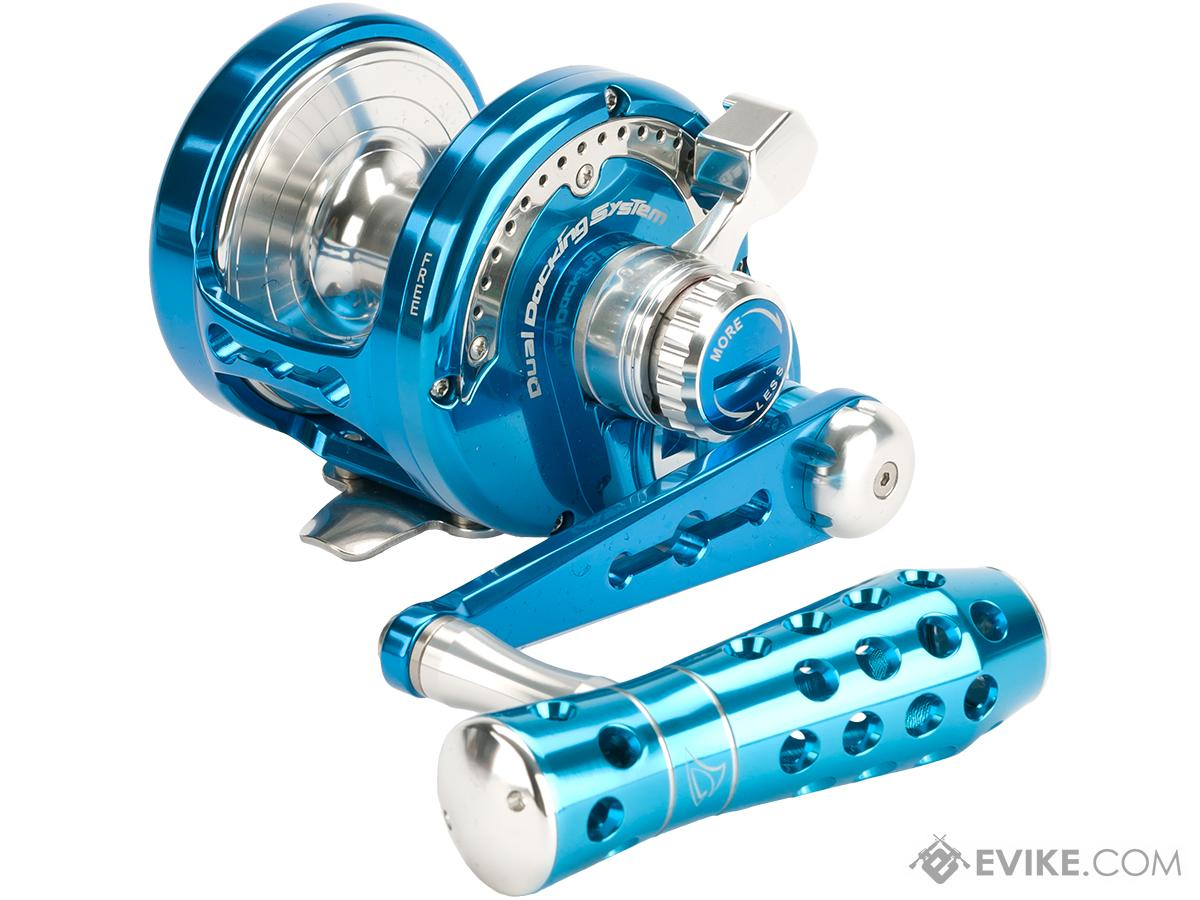 Jigging Master Power Spell Fishing Reel - Blue / Silver (Size: PE6)
