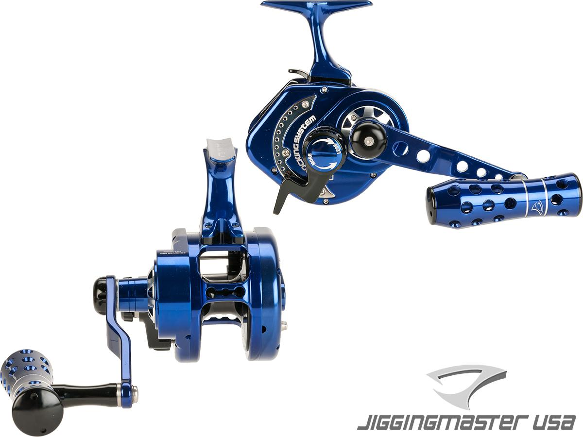 Jigging Master UnderHead Reel - Indigo Limited Edition (Size: PE5NLH Left Hand / Narrow)