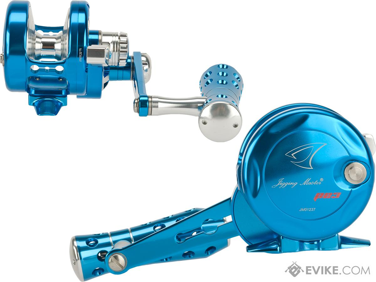 Jigging Master Power Spell Fishing Reel - Blue / Silver (Size: PE3)