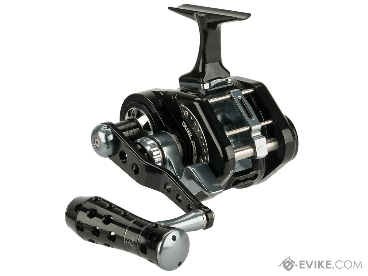 Jigging Master UnderHead Reel - Black / Grey (Size: PE5N / Narrow)
