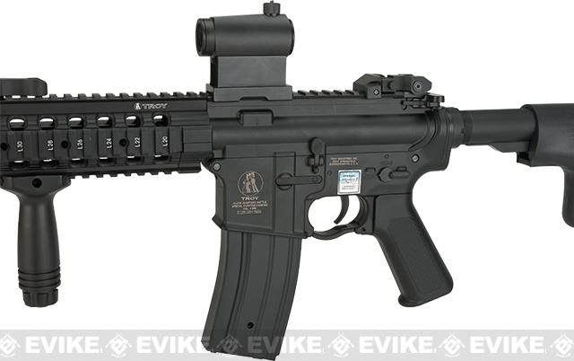 Pre-Order ETA January 2017 Echo1 TROY Industry licensed MRF-C G2 7 RIS M4 Airsoft AEG Rifle