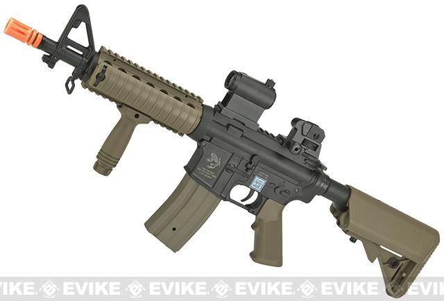 Echo1 M4 ST6 Full Size Airsoft AEG Rifle - Dark Earth