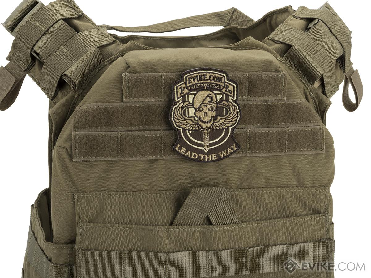 Evike.com Ranger Hook and Loop Patch (Color: Dark Earth)
