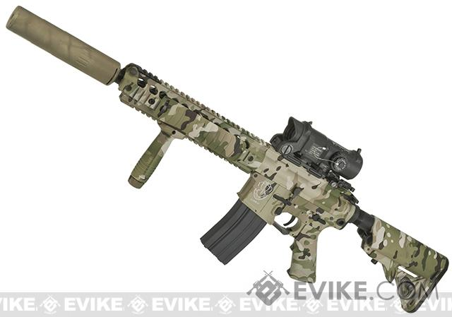 Bone Yard - King Arms Metal Hydro-Dipped Limited Edition Scorpion M4 Carbine Airsoft AEG (Store Display, Non-Working Or Refurbished Models)