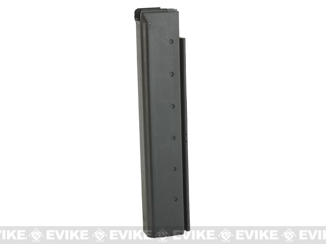 King Arms 60 Round Mid-Cap Magazine for M1A1 / Thompson Airsoft AEG Rifles - One