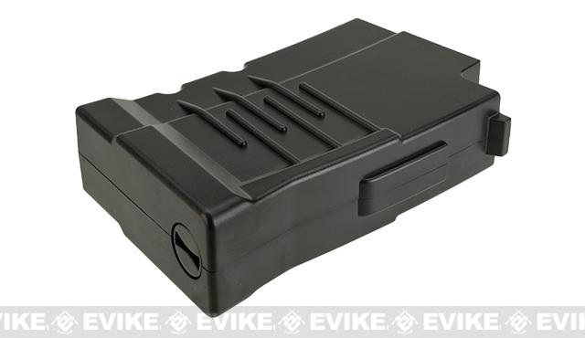 40 Round Mid-Cap Polymer Magazine for VSS Airsoft AEG Sniper Rifles by King Arms - Set of 5
