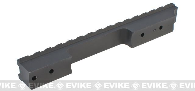 King Arms Extended Scope Rail Mount for M700 / VSR-10 Airsoft Sniper Rifles - Short