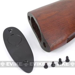 King Arms Real Wood Conversion Kit for Thompson M1982 / Chicago Typewriter Airsoft AEG