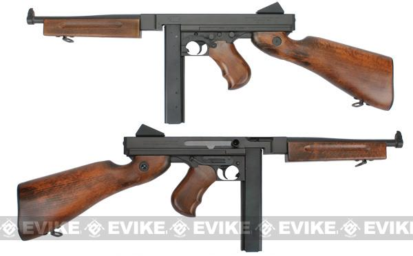 Real Wood Conversion Kit for Thompson M1A1 Series Airsoft AEG by CYMA / King Arms