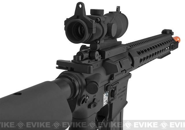 Knights Armament Airsoft SR-16E3 MOD 2 Airsoft AEG Rifle with Polymer Receiver by Echo1 - Black