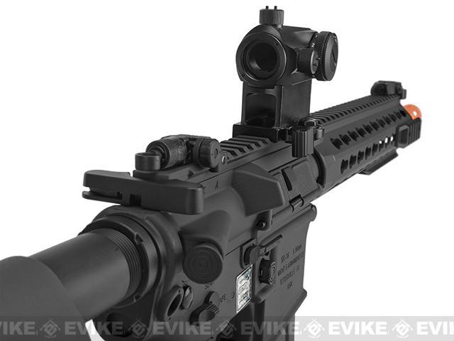 Knights Armament Airsoft SR-16E3 CQB Mod2 Airsoft AEG Rifle with Polymer Receiver by Echo1 - Black
