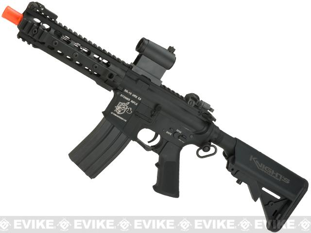 Knights Armament Airsoft M4A1 URX3 CQB Airsoft AEG - Black (Package: Add Battery + Charger)