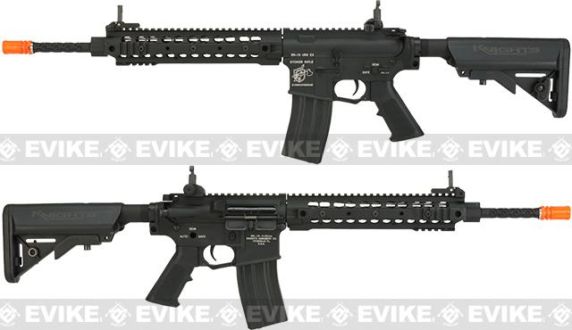 Knights Armament Airsoft URX3 M4A1 Airsoft AEG - Black (Package: Add Battery + Charger)