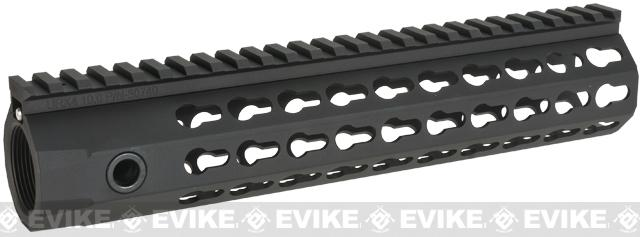 Knight's Armament Co URX 4 Free Float Rail System for M4 / M16 Series Airsoft AEG Rifles - 10 / Black
