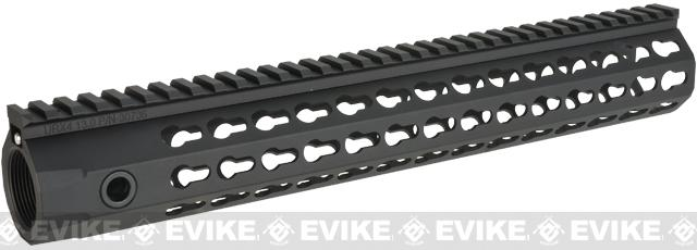 Knight's Armament Co URX 4 Free Float Rail System for M4 / M16 Series Airsoft AEG Rifles - 13 / Black