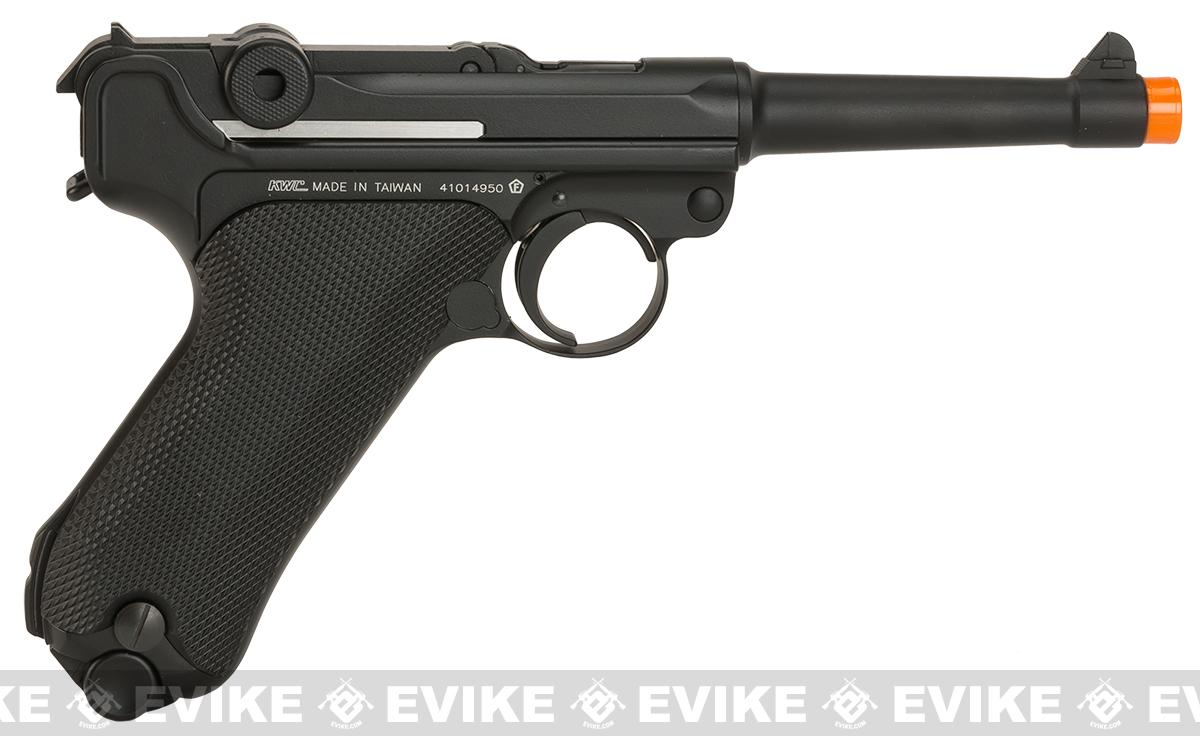 KWC P08 Luger CO2 Powered Airsoft Pistol