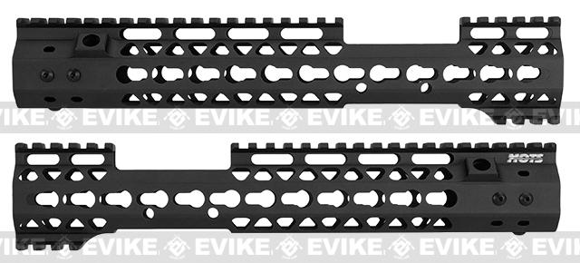 G&P MOTS 12 MRE Keymod Rail System for M4 / M16 Series Airsoft Rifles - Black