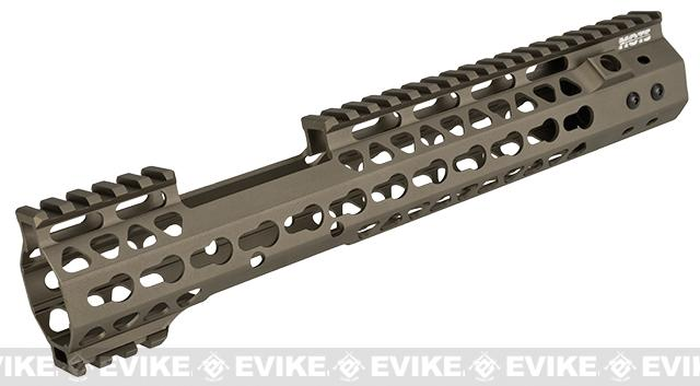 G&P MOTS 12 MRE Keymod Rail System for M4 / M16 Series Airsoft Rifles - Sand