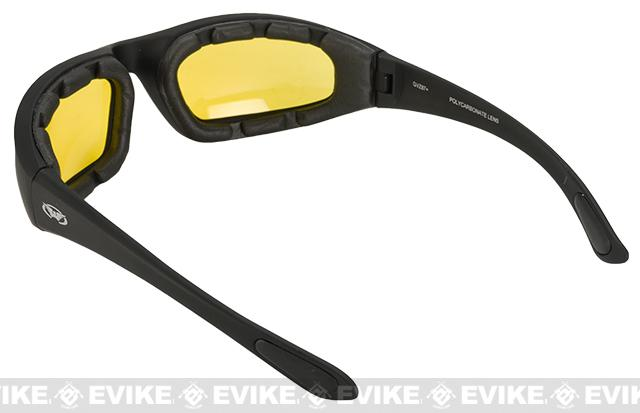 Global Vision Kickback Z A/F Safety Glasses - Yellow Tint
