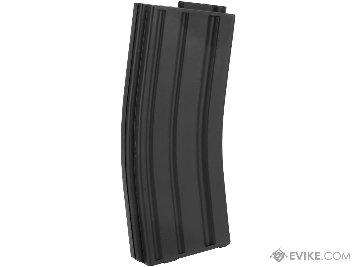 King Arms 120 Round Mid-Cap M4/M16 AEG Magazine (Color: Black / Box of 10)