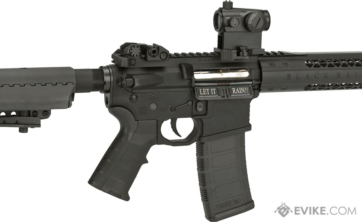 Black Rain Ordnance Fallout 15 Recon Airsoft M4 AEG by King Arms (Color: Black)