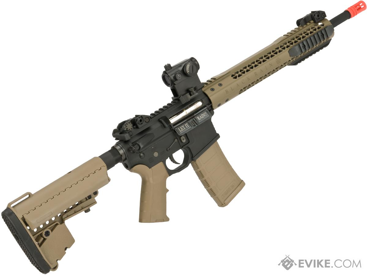 Black Rain Ordnance Fallout 15 Recon Airsoft M4 AEG by King Arms (Color: Tan)