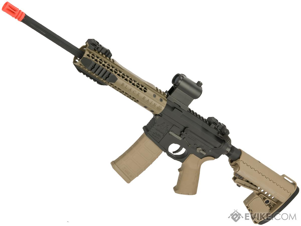 Black Rain Ordnance Fallout 15 Urban Airsoft M4 AEG by King Arms (Color: Tan)