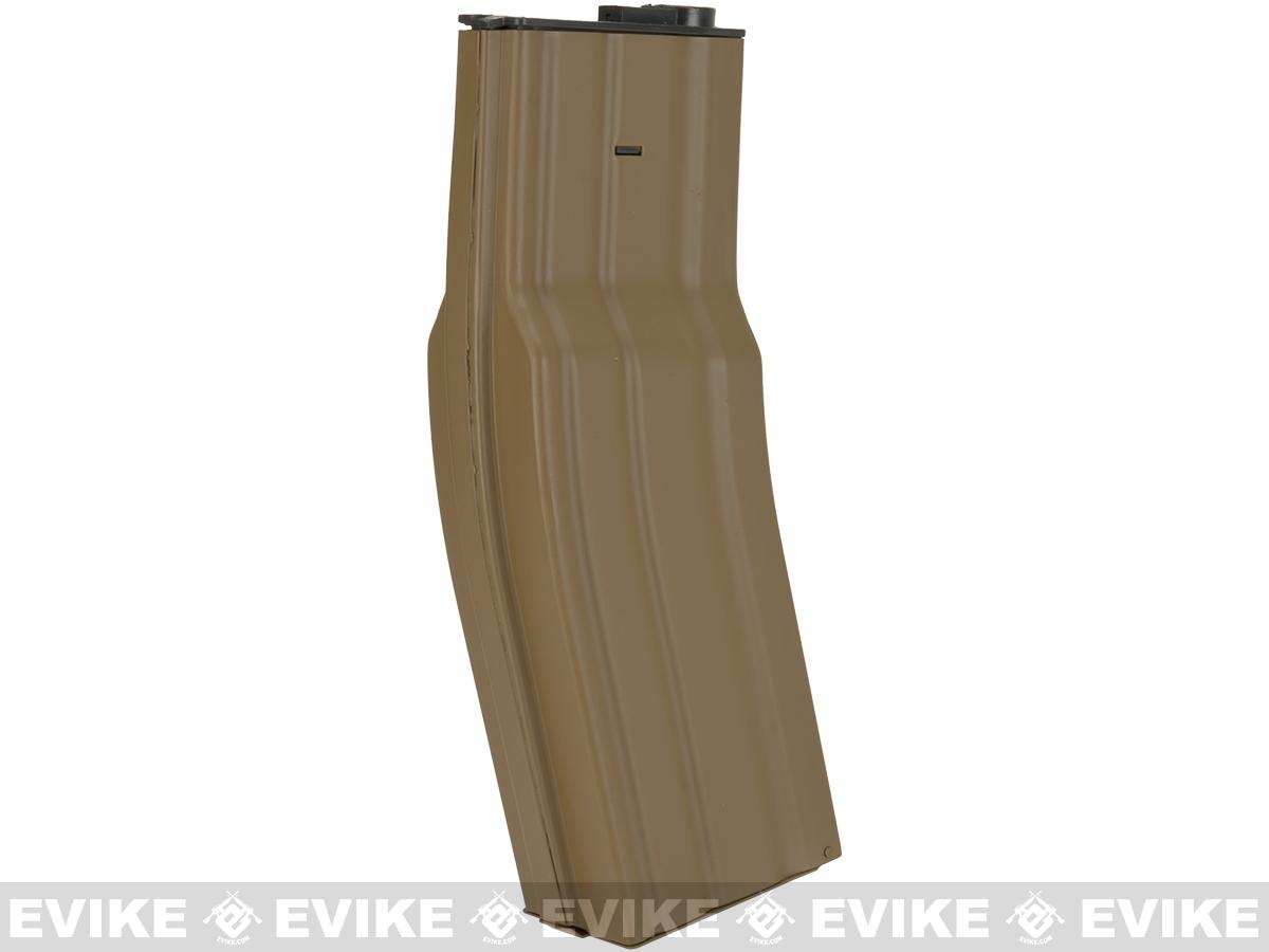 Matrix 850rd FAT Flash Mag Hi-Capacity Magazine for M4 / M16 Series Airsoft AEG Rifles - Tan