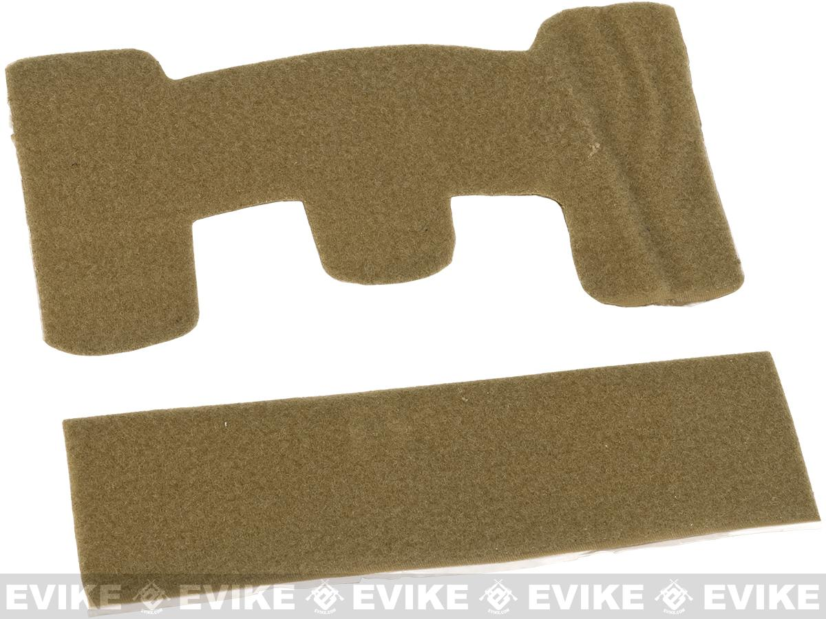 Matrix Loop Adhesive Strips for Tactical Helmets - Tan