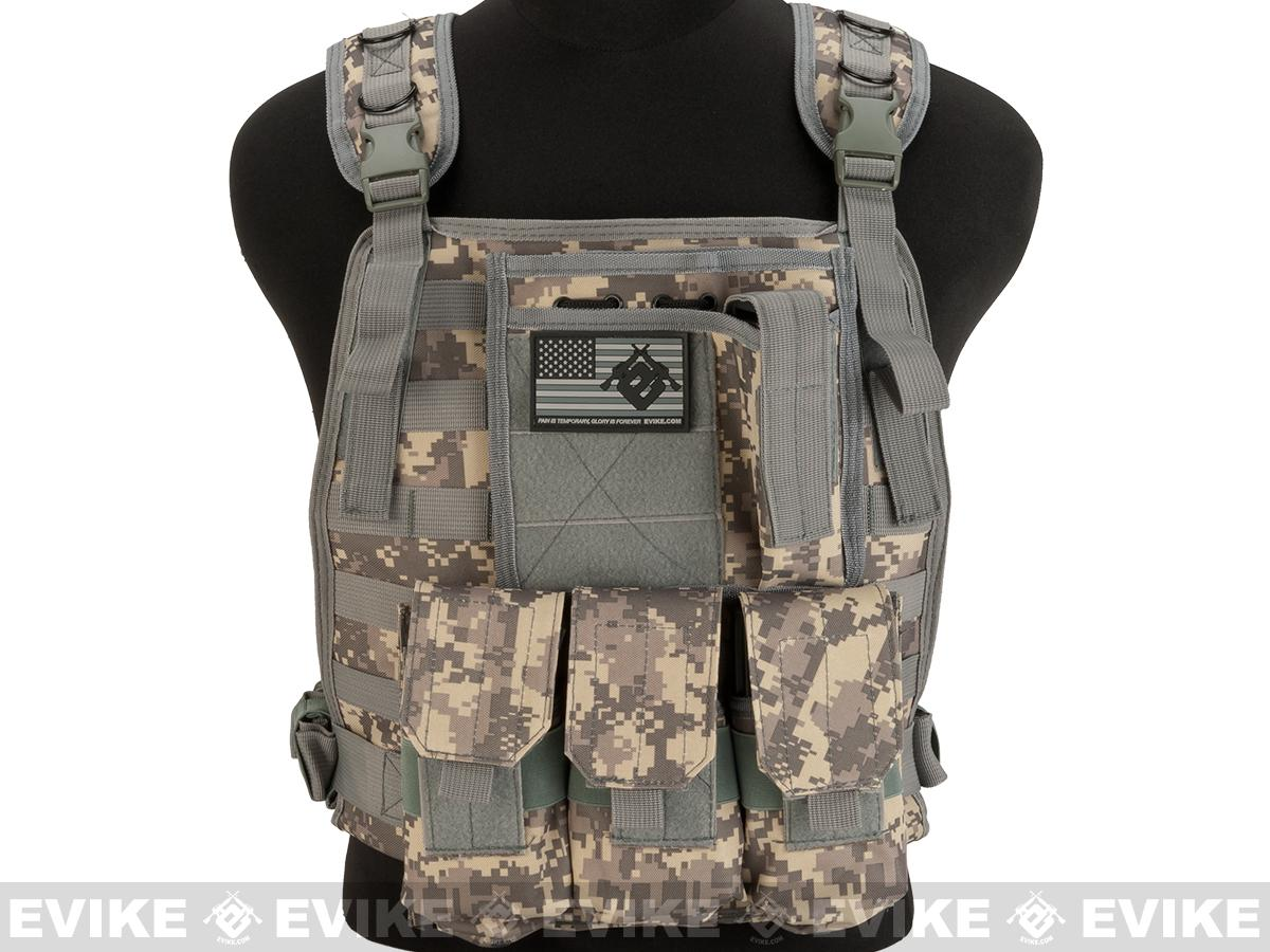 Avengers Tactical Spec. OPS MOLLE Plate Carrier / Load Bearing Vest - ACU