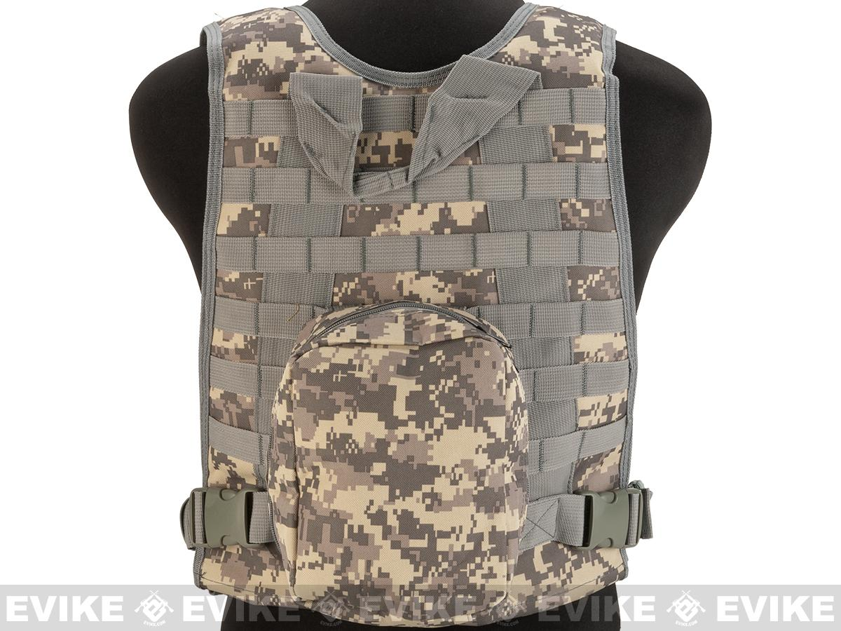 Avengers Tactical Spec. OPS MOLLE Plate Carrier / Load Bearing Vest (Color: ACU)