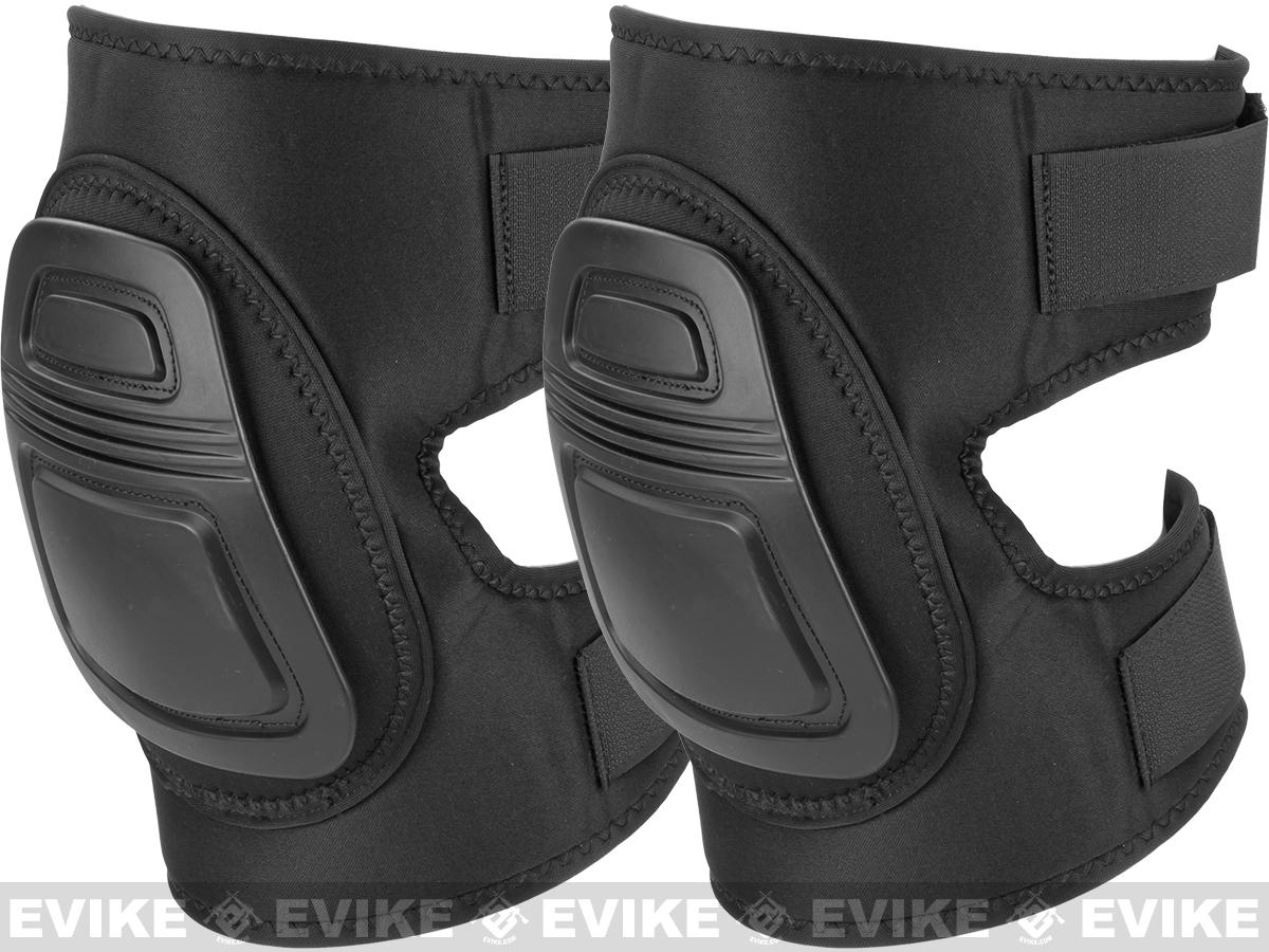Avengers Low Profile Knee Pads (Color: Black)
