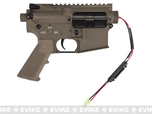 G&P Complete M4 Metal Receiver & Gearbox Airsoft AEG ProKit (G&P USA) Front Wire / Desert
