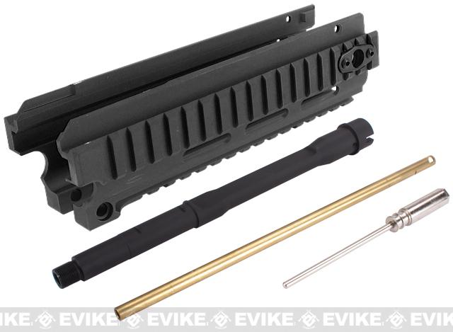 CNC Aluminum CQB RIS Kit for A&K Masada Airsoft AEG Rifles - Black