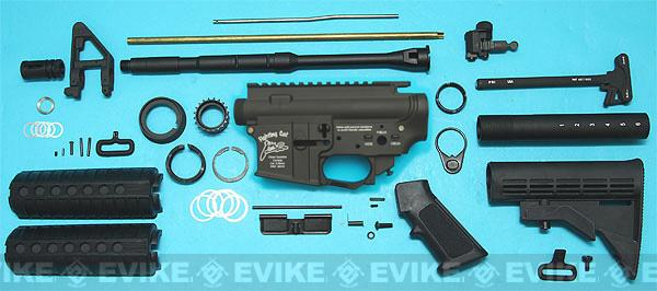 G&P M4 WOC Fighting Cat GBB Airsoft Gas Blowback Rifle Challenge Kit (M4A1)