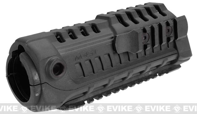 Avengers M4-S1 Handguard for M4 Series Airsoft AEG Rifles - Black