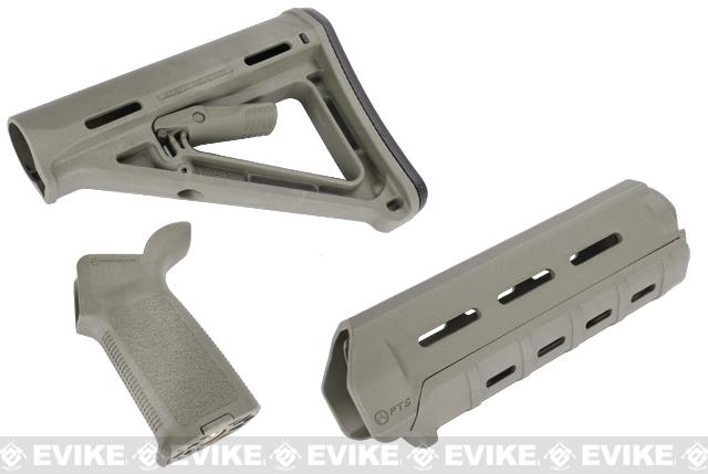 Magpul PTS MOE Conversion Kit for M4 Series Airsoft AEGs - (Foliage Green)