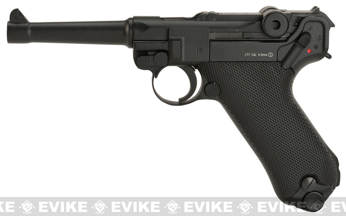 KWC P08 Luger CO2 Powered Air Pistol (4.5mm AIRGUN NOT AIRSOFT)