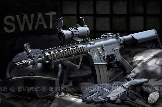 Bone Yard - Matrix / AEG SR-16 URX CQB Full Metal M4 Airsoft AEG Rifle  (Store Display, Non-Working Or Refurbished Models)