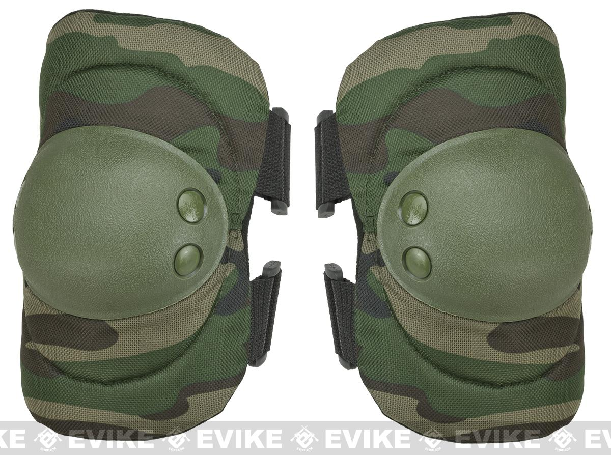 Avengers Special Operation Tactical Elbow Pad Set (Color: Woodland Camo)