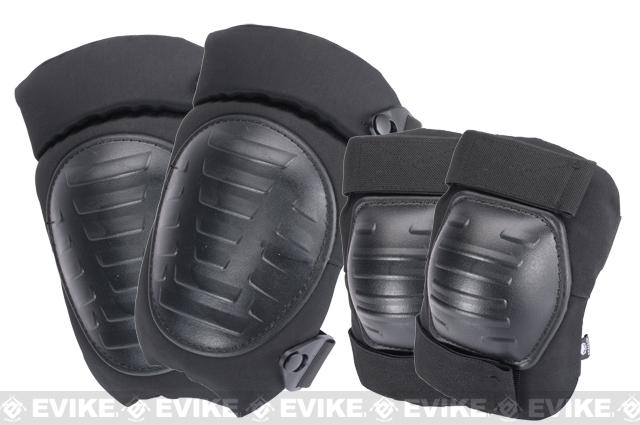 Matrix Emerson Military Knee / Elbow Pad Set - Black