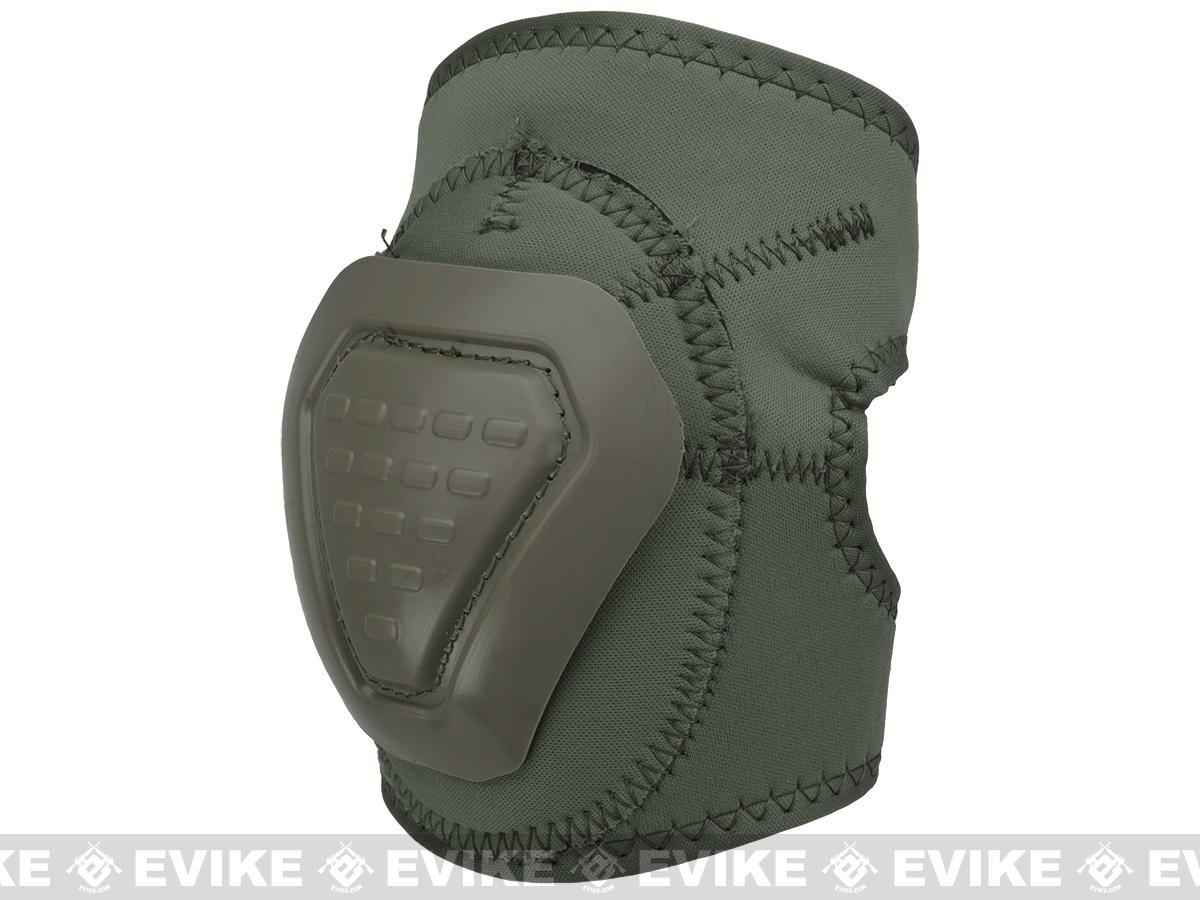 Matrix Bravo Advanced Neoprene Tactical Knee and Elbow Pad Set (Color: OD Green)