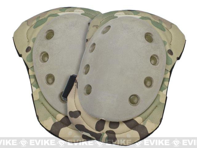 Avengers Special Operation Tactical Knee Pad / Elbow Pad Set - Land Camo