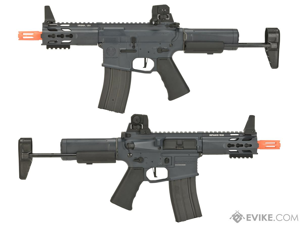 Krytac Full Metal Trident MK2 PDW Airsoft AEG Rifle - Wolf Grey Special Edition