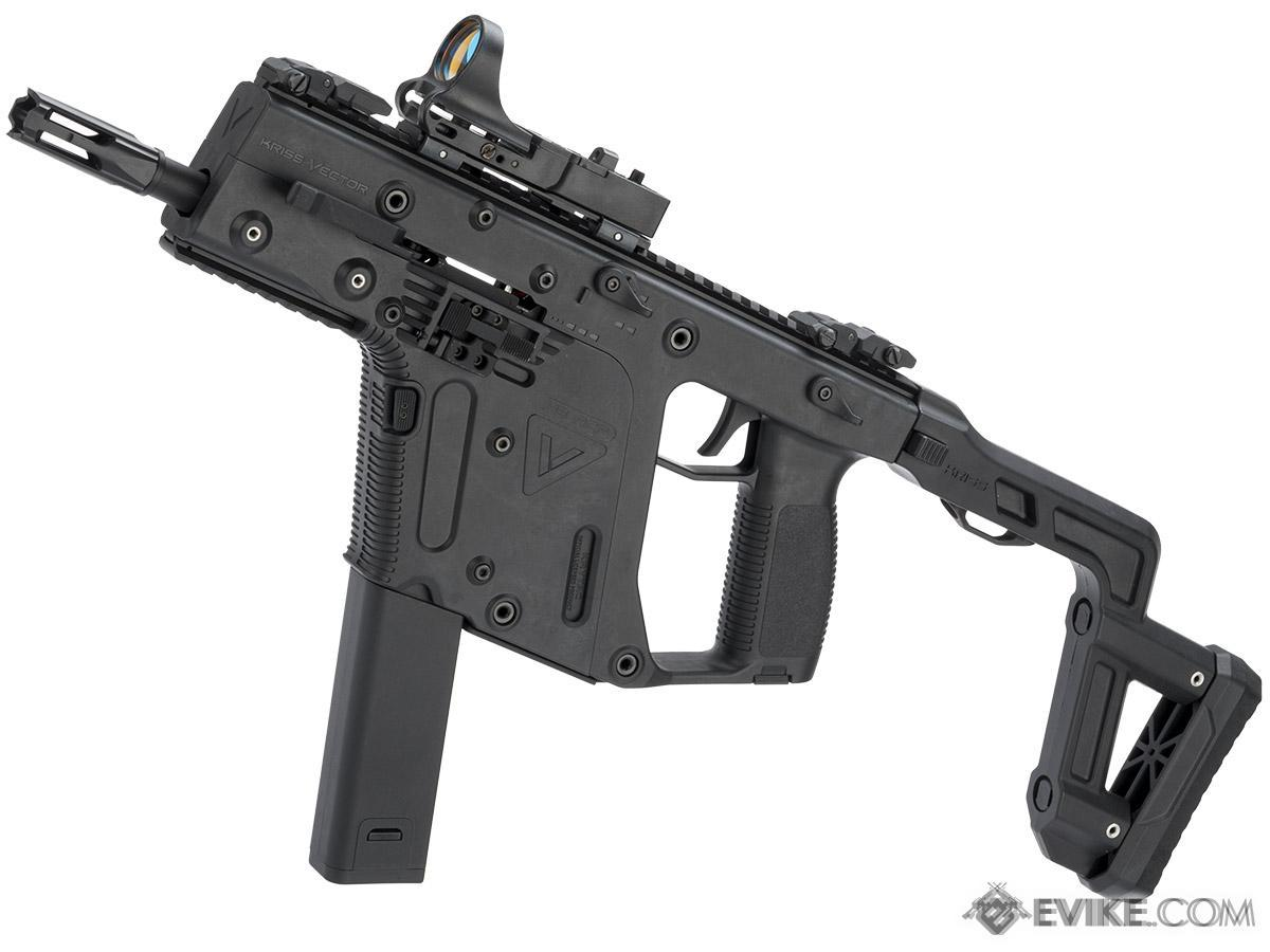 Pre-Order ETA August 2017 KRISS USA Licensed Kriss Vector Airsoft AEG SMG Rifle by Krytac (Velocity: 350 FPS)