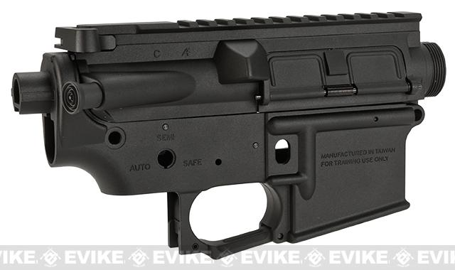 Krytac Trident Series Complete Upper & Lower Receiver for M4 / M16 Airsoft AEG Rifles - Black